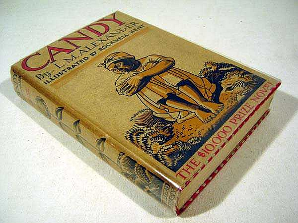 L. M. Alexander CANDY 1934 First Edition Novel & Dust Jacket Illustrations By Rockwell Kent Prize-Winning African-American Novel South Carolina