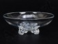 STEUBEN CRYSTAL LOW FOOTED BOWL