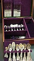 Peruvian Sterling Silver Flatware in Box, 191 Pieces: