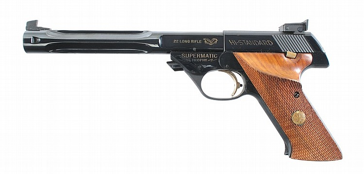 High Standard Supermatic Trophy 104 http://www.artfact.com/auction-lot/hi-standard-model-104-supermatic-trophy-semi-auto-109-c-83b2ac9455