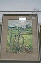 Anthony Atkinson watercolour in glazed frame -, Anthony Atkinson, Click for value