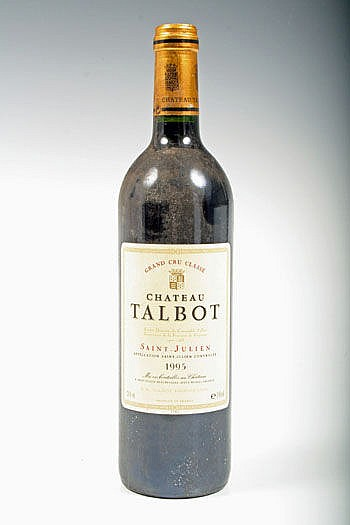 Wine - one bottle of Chateau Talbot 1995, Grand
