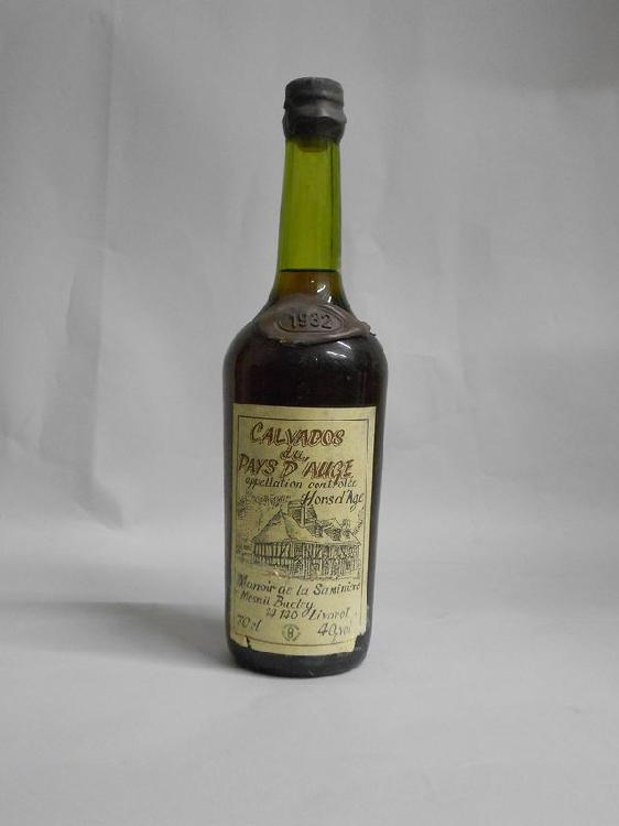 1 bouteille  CALVADOS, La Saminire  1932