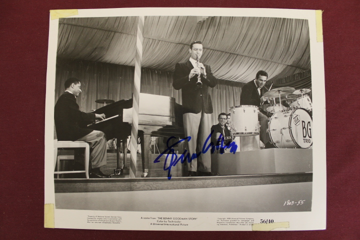 Benny Goodman Autographed 8x10 Photo