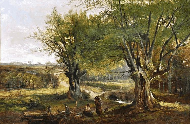 Henry Allan (Irish 1865-1912) 'Lagan Brook, County