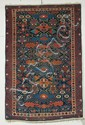 Kuba Rug, Northeast Caucasus, last quarter 19th century, (even wear to center, small crease, very slight moth damage, brown oxidation),