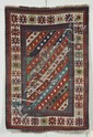 Kazak Rug, Southwest Caucasus, last quarter 19th century, (some black oxidation, reovercast, small corner repair), 5 ft. 4 in. x 3 ft.