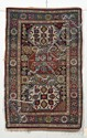 Kuba Rug, Northeast Caucasus, last quarter 19th century, (very small repair in field, slight selvage damage), 5 ft. 2 in. x 3 ft. 4 in.