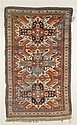 Eagle Karabagh Rug, South Caucasus, last quarter 19th century, (small crease, dark brown oxidation), 7 ft. 10 in. x 4 ft. 10 in.