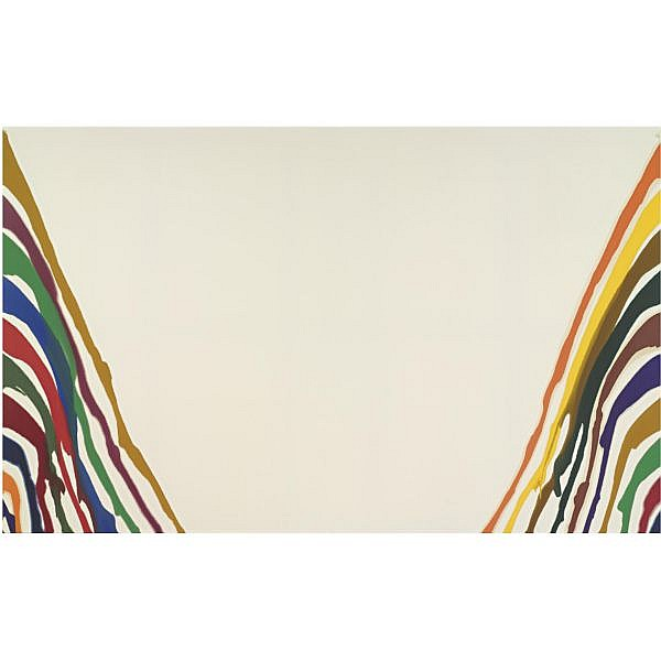 Morris Louis , 1912-1962 Gamma Tau magna on canvas