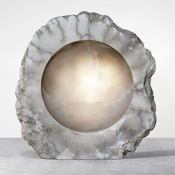 - Anish Kapoor , b. 1954 Untitled alabaster