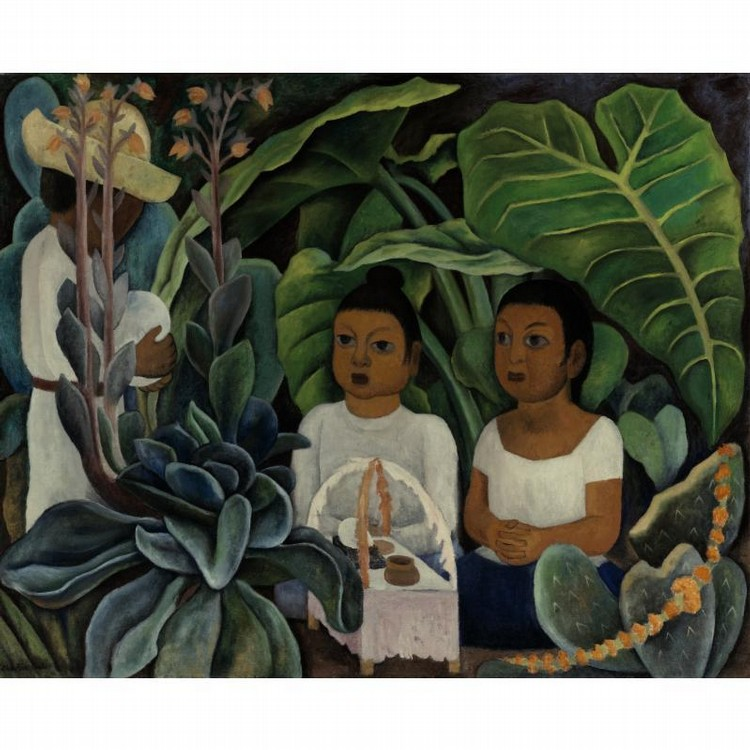 PROPERTY FROM A DALLAS PRIVATE COLLECTION DIEGO RIVERA (1886-1957) LA OFRENDA