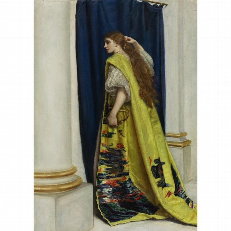 PROPERTY OF A LADY SIR JOHN EVERETT MILLAIS, BART., P.R.A., H.R.I., H.R.C.A.   BRITISH, 1829-1896