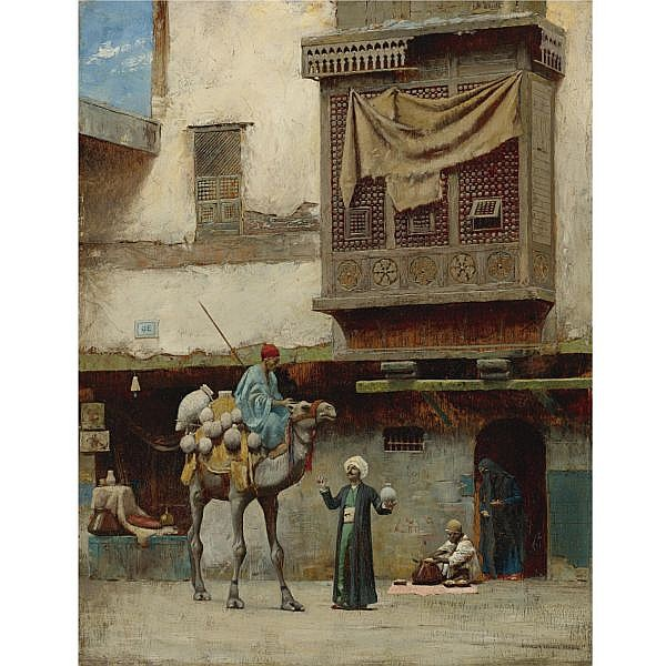 Charles Sprague Pearce , American 1851-1914 