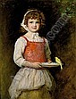 f - SIR JOHN EVERETT MILLAIS, P.R.A. 1829-1896 MERRY