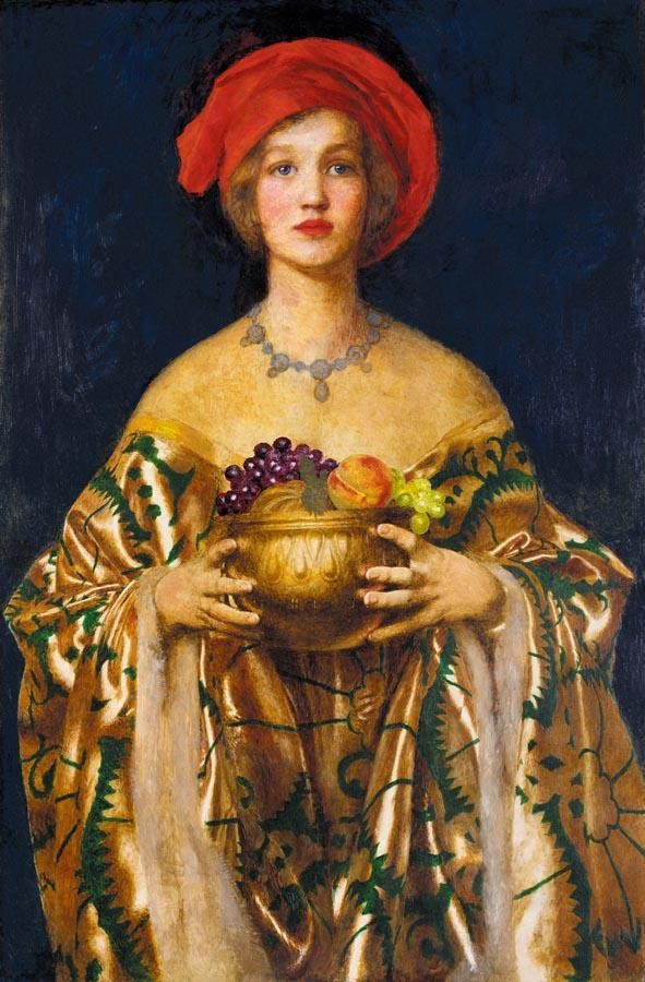 FRANK CADOGAN COWPER R.A. 1877-1958 THE GOLDEN BOWL