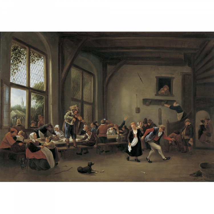 JAN HAVICKSZ. STEEN LEIDEN 1626 - 1679
