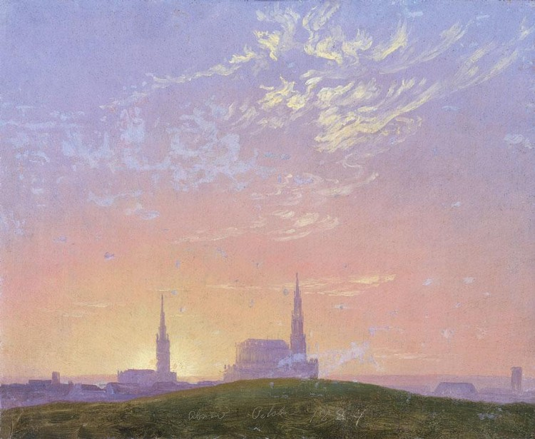 CASPAR DAVID FRIEDRICH GERMAN, 1774-1840