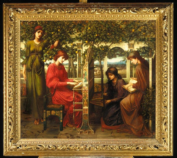 f - JOHN MELHUISH STRUDWICK 1849-1935