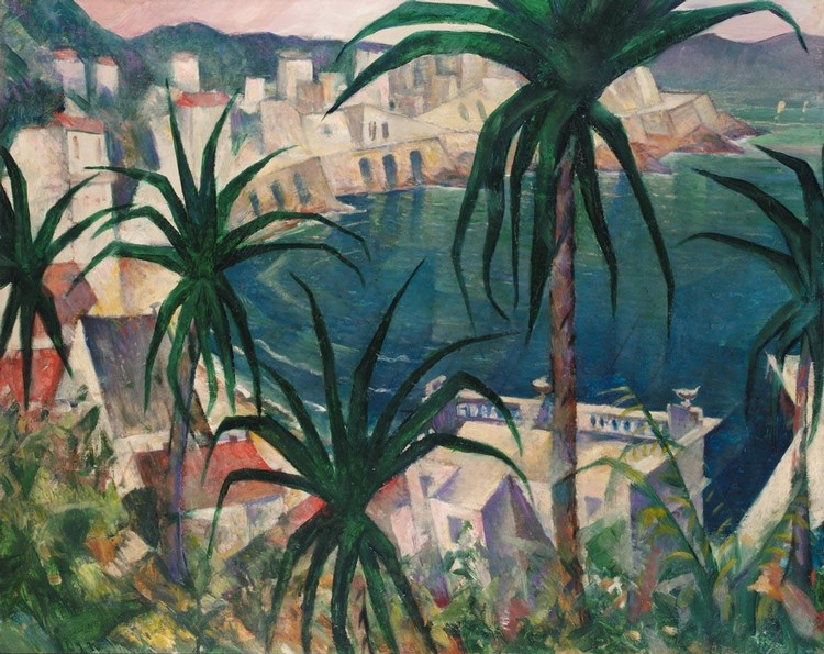 CHRISTOPHER RICHARD WYNNE NEVINSON, A.R.A. 1889-1946 LA CORNICHE