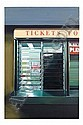 RICHARD ESTES B. 1936 TICKET WINDOW, Richard Estes, Click for value