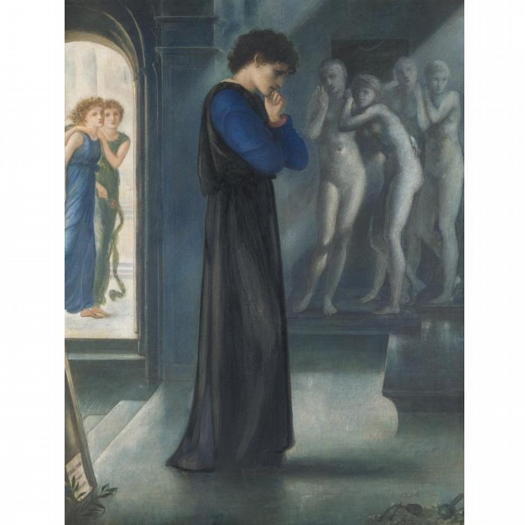 f - SIR EDWARD COLEY BURNE-JONES, BT., A.R.A. 1833-1898