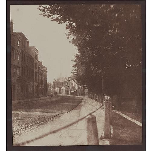 William Henry Fox Talbot 1800-1877 , high street, oxford