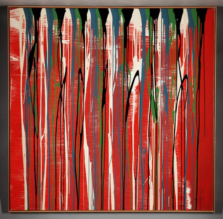 f,w - IAN DAVENPORT, B. 1966 UNTITLED
