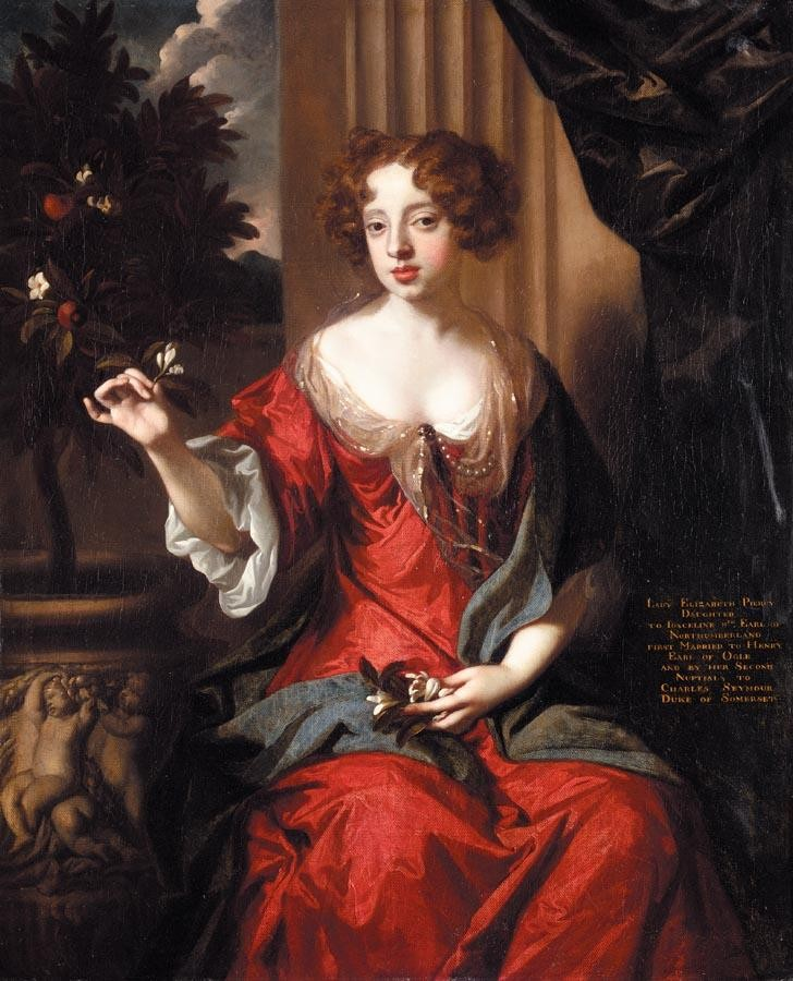 SIR PETER LELY 1618-1680 PORTRAIT OF LADY ELIZABETH PERCY (1667-1722), LATER WIFE OF CHARLES, 6TH