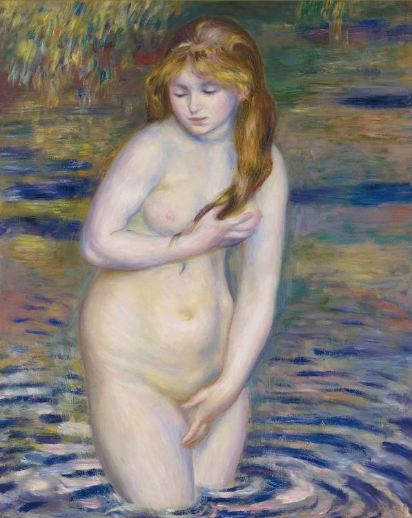 f - PIERRE-AUGUSTE RENOIR