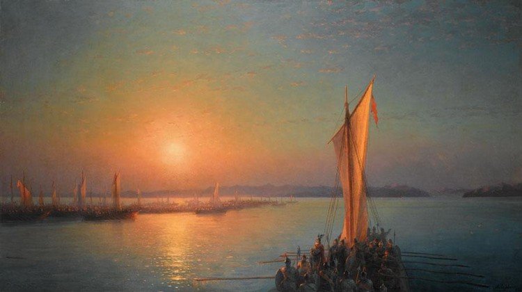 IVAN KONSTANTINOVICH AIVAZOVSKY, 1817-1900