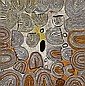 Naata Nungurrayi born circa 1932 ROCKHOLE SITE OF MARRAPINTI (2000) synthetic polymer paint on linen, Naata Nungurrayi, AUD9,000