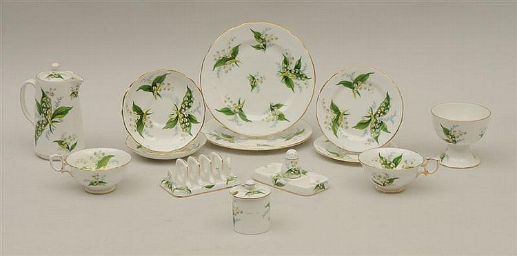 Hammersley Bone China Breakfast Service for Two
