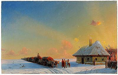 Ivan Konstantinovich Aivazovsky 1817-1900 Winter