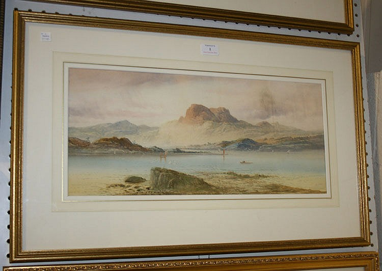 Attributed to Lennard Lewis - Highland Scenes,