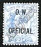 Philatelic - Great Britain: 1902 EVII 2d O.W.