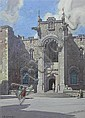 LEONARD RUSSELL SQUIRRELL R.W.S. , R.I., R.E. (BRITISH 1893-1979) SCOTTISH NATIONAL WAR MEMORIAL, EDINBURGH CASTLE 25.50cm x 18cm (9...
