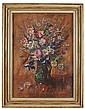 &sect; MARY ARMOUR R.S.A., R.S.W (SCOTTISH 1902-2000) AUTUMN FLOWERS 76cm x 54cm (30in x 21.25in)