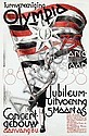 Poster by Jan Kotting - Turnvereeniging Olympia Amsterdam