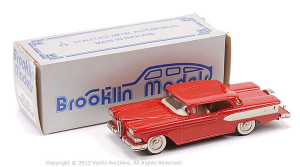 Brooklyn Models No.22X 1958 Edsel Citation 3rd