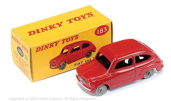 Dinky No.183 Fiat 600 Saloon
