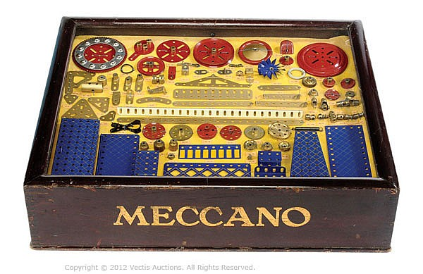 Meccano a rare early Shop Counter Display
