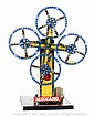 Meccano factory built display model 4 Rotating
