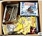 QTY Meccano late issue items inc French packeted