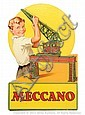 Meccano Advertising Show Card