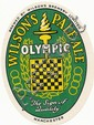BEER LABELS, Wilson Brewery (Manchester), Olympic