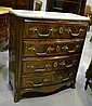 Fine antique French Kingwood chest of four