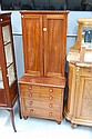 Rare antique 19th century Georgian style two