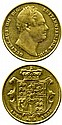 British Gold Coins - 1832 sovereign fair, from a
