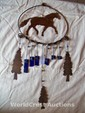 Western Horse Wind Chime